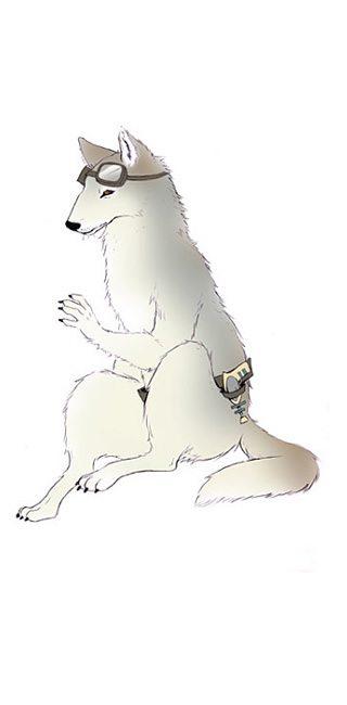 Spacewolf Portrait